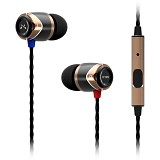 SOUNDMAGIC In Ear Sound Isolating Earphone [E10S] - Gold - Earphone Ear Monitor / IEM